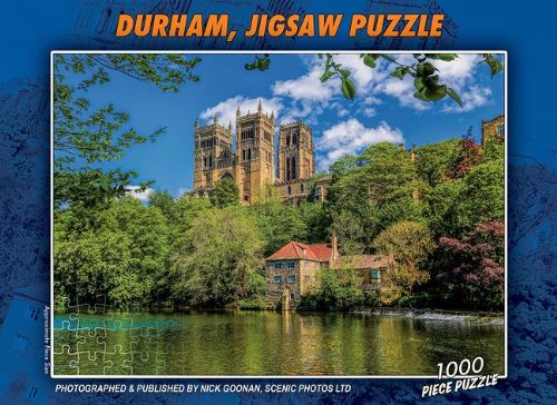 Durham Cathedral Jigsaw 1000 Piece Puzzle
